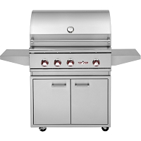 "32"" Freestanding Gas Grill Base"