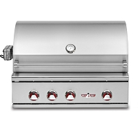 "32"" Built-in Gas Grill with Infrared Rotisserie"