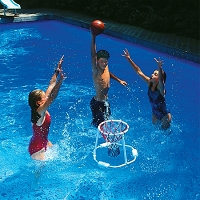 Floating Basketball Game