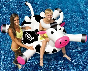 Giant LOL Crazy Cow